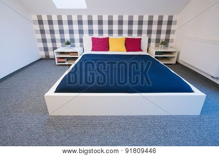 Enormous Double Bed