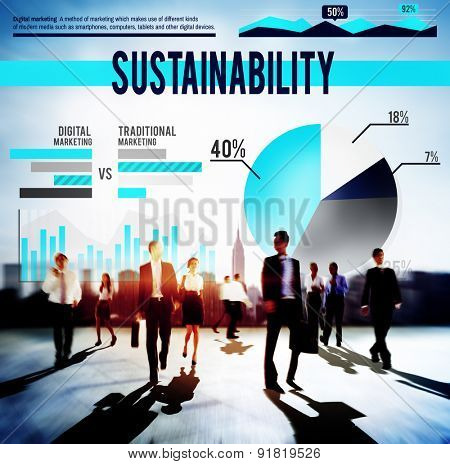 Sustainability Resource Conservation Viable Concept