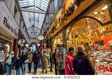 Passage De L'argue In Lyon, France