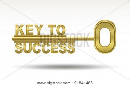 Key To Success - Golden Key
