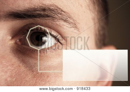 Iris Scan And Your Text
