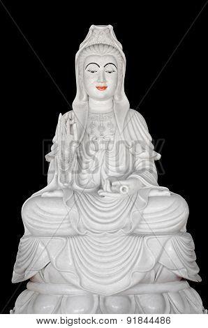 Buddhist Figure Sculpture, Guanyin Bodhisattva