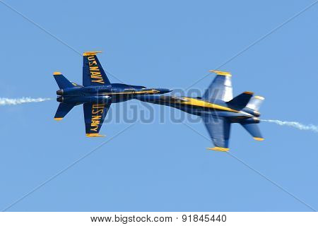 Blue Angels at Great New England Air Show