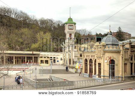 City Kislovodsk. Railway Station
