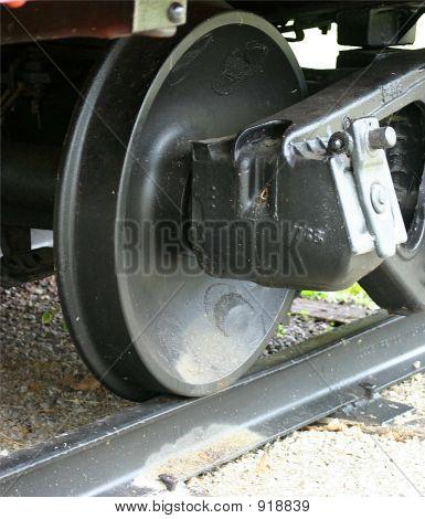 One Train Wheel