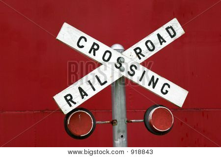 Antique Railroad Sign