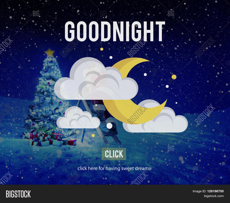 Goodnight Afbeelding En Foto Gratis Proefversie Bigstock
