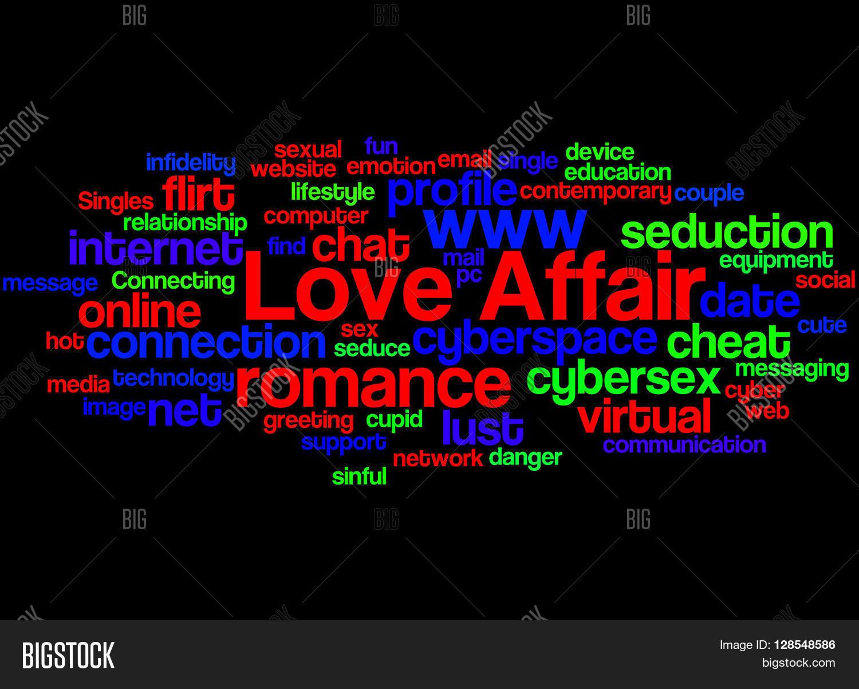Love Affair Word Cloud Concept