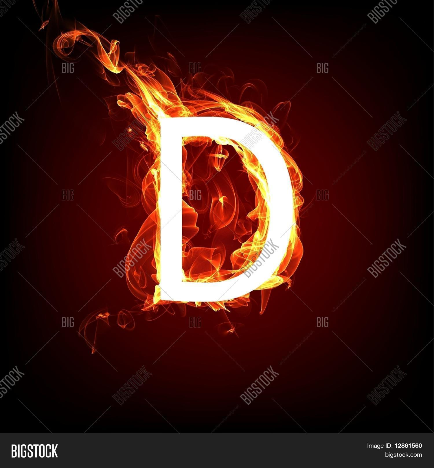 Fiery Font Hot Flame Image Photo Free Trial Bigstock