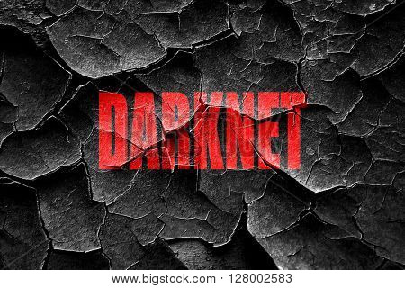 Grunge cracked Darknet internet background