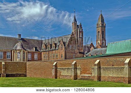 Tongerlo Abbey is a Premonstratensian monastery at Tongerlo in Westerlo near Antwerp Belgium