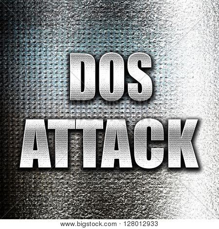 DOS warfare background poster