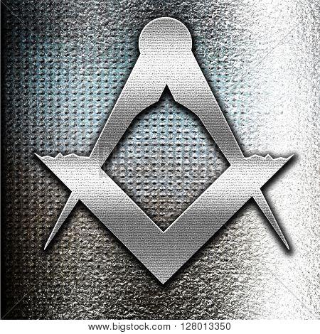 Masonic freemasonry symbol poster