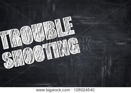 Chalkboard writing: troubleshooting