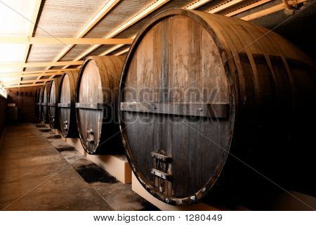 Winery Barrels