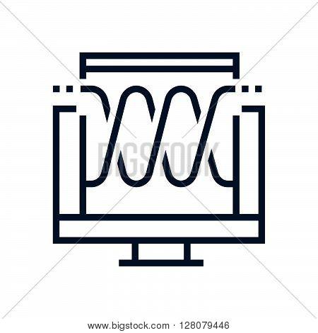 Audio Visual Icon