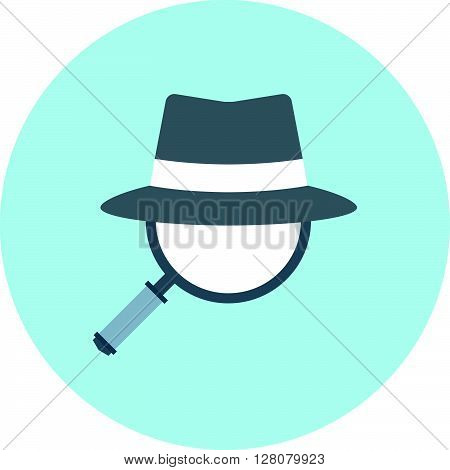 Spy Ware Theme, Flat Style, Colorful, Vector Icon