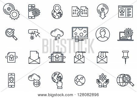 Technology Icon Set