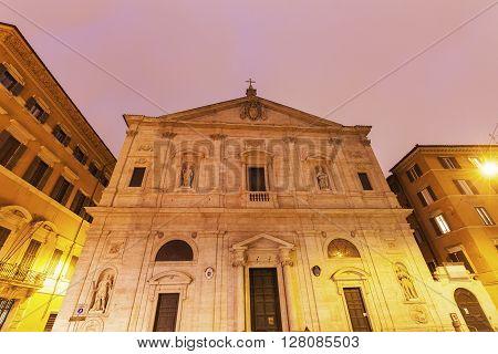San Luigi dei Francesi. Rome Lazio Italy.