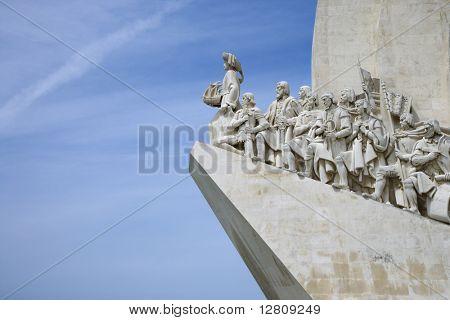 Monumento a los descubrimientos en Lisboa, Portugal.