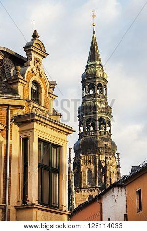 Dom St. Marien in Zwickau Zwickau Saxony Germany.