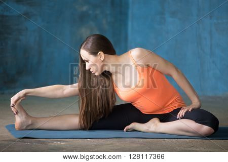 Seated Floor Hamstring Stretch
