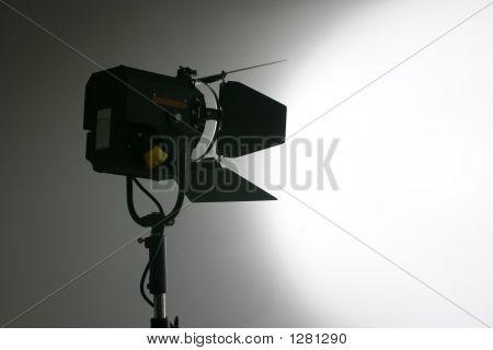 Studio Film And Video Lamp Silhouette