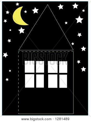 House With The Night Sky 02