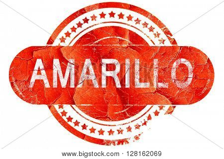amarillo, vintage old stamp with rough lines and edges