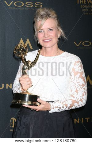 LOS ANGELES - APR 29:  Mary Beth Evans at the 43rd Daytime Emmy Creative Awards at the Westin Bonaventure Hotel  on April 29, 2016 in Los Angeles, CA