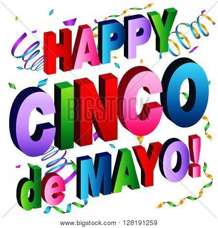 An image of a Happy Cinco de Mayo Message.