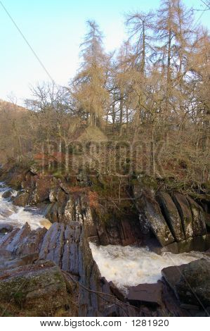 Bracklin Falls And Woods