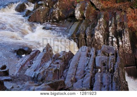 Bracklin Falls Near The Top