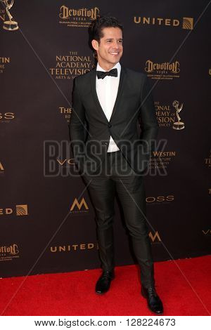 LOS ANGELES - MAY 1:  Miles Gaston Villanueva at the 43rd Daytime Emmy Awards at the Westin Bonaventure Hotel  on May 1, 2016 in Los Angeles, CA