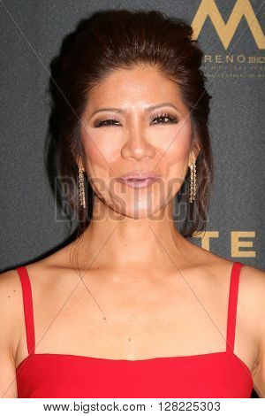 LOS ANGELES - MAY 1:  Julie Chen at the 43rd Daytime Emmy Awards at the Westin Bonaventure Hotel  on May 1, 2016 in Los Angeles, CA