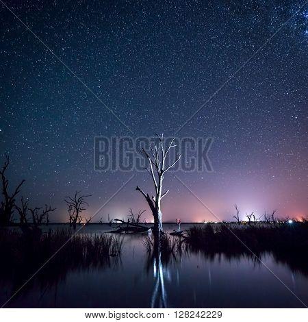 Lake Bonney in South Australia