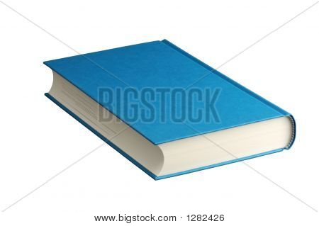 Book Isolated On White With Clipping-Path Icluded