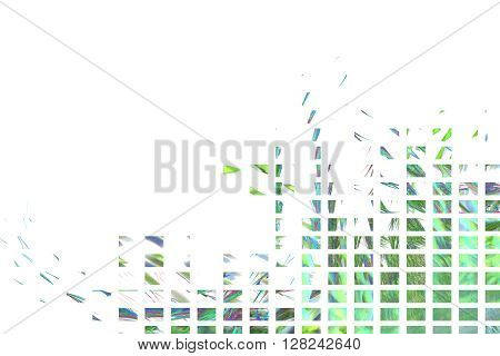 Background with abstract sphere slices. High detailed image.