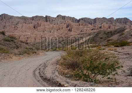 Quebrada de la Flechas national park on argentina andes ** Note: Soft Focus at 100%, best at smaller sizes