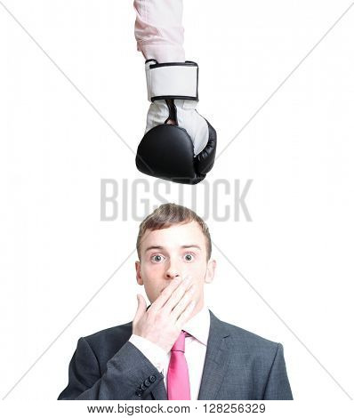 Knockout on white