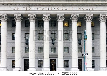 United States Courthouse in New York City