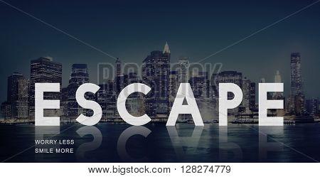 Escape Way out Breakout Evacuation Concept