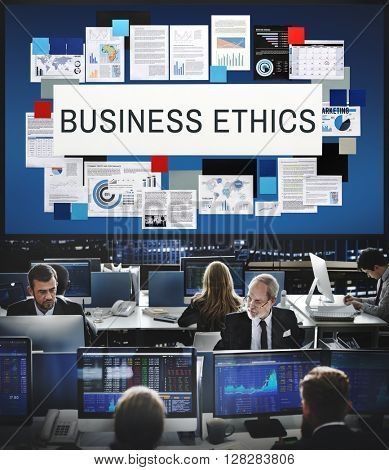 Business Ethics Honesty Integrity Concept