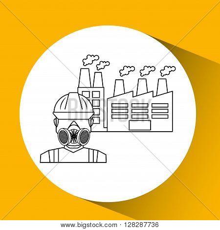 industrial work design, vector illustration eps10 graphic