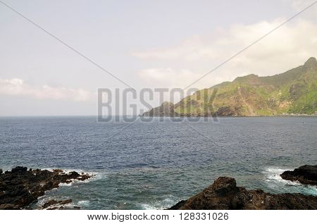 Mountain, Bay And Volcanic Coasts