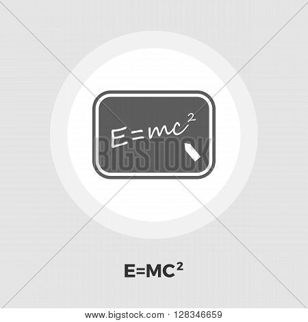 Physics icon vector. Flat icon isolated on the white background. Editable EPS file. Vector illustration.