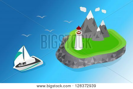 Light house, Lighthouse Icon building Lighthouse maritime, Lighthouse navigational guidance, Lighthouse Image Lighthouse isometric Lighthouse Sign Lighthouse Flat Lighthouse design, Lighthouse sea. ships sailing to the lighthouse