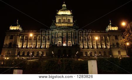 Natural Museum In Prague