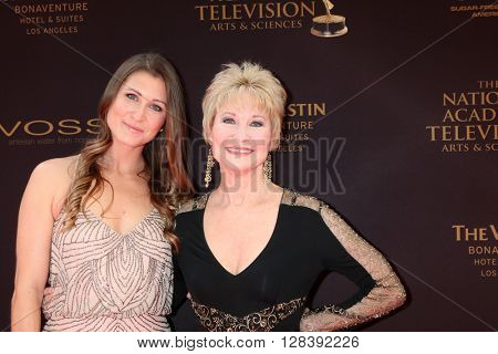 LOS ANGELES - MAY 1:  Gabrielle Stone, Dee Wallace at the 43rd Daytime Emmy Awards at the Westin Bonaventure Hotel  on May 1, 2016 in Los Angeles, CA