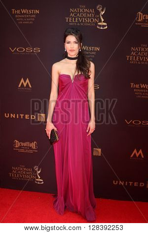 LOS ANGELES - MAY 1:  Sofia Pernas at the 43rd Daytime Emmy Awards at the Westin Bonaventure Hotel  on May 1, 2016 in Los Angeles, CA